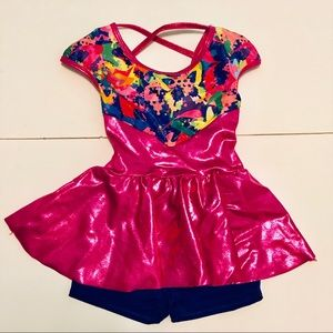 Girls Gymnastics/Dance Leotard Costume